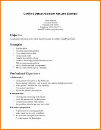dental assistant example resume job bid template dental assistant example resume dental assistant resume example example 6 jpg