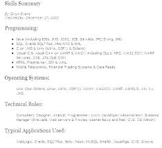 Technical Skills On A Resume Extraordinary Technical Skills Resume Examples Dewdrops