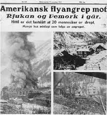 "Image result for A hydroelectric power plant in the Norwegian town of Rjukan, where German scientists tried to produce the ""heavy water"""