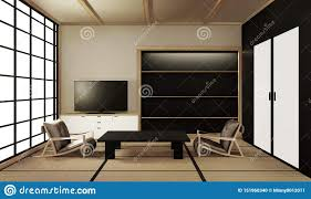 Mat Interior Design Interior Design Modern Living Room With Table On Tatami Mat