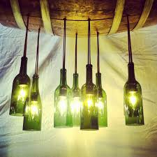 to make lamp at home wine bottle chandelier ideas diy lights jug your own kit homemade how beer light floor pendant tags fixture made from bottles out of