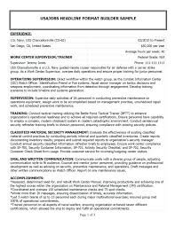 Veteran Resume Examples Resume Military Veteran Resume