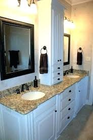 charming ideas bathroom storage tower and counter simple vanities with towers vanity linen cabinet simpl