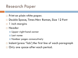 Formatting MLA Research Paper   ppt video online download