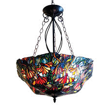 chloe lighting marigold 21 in w tiffany style pendant light with shade