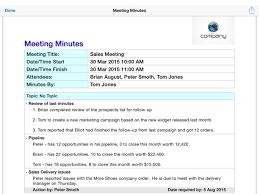 Sales Meeting Topic Best Free Meeting Minutes App For Mac Lastflightcabs Blog