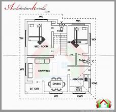 1000 sq ft house plans 2 bedroom indian style best of 900 with car parking ba