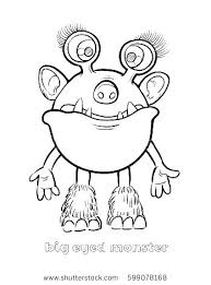 Monster Color Pages Monster Coloring Pages Printable Crazy Monsters