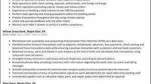 Foreign Exchange Teller Resume Bank Teller Resume Sample Lovely Bank Resume Template Retail Banking 9