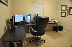 desk cool curved corner desk l shaped gaming desk black wooden desk monitors keyboars mouse