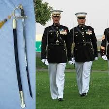 United States Marine Officer United States Marine Corps Usmc Nco Sword Stainless Steel Blade 0042 Ebay