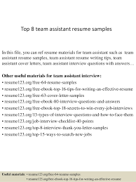 Pharmacy Assistant Resume Sample Enchanting Top 48 Team Assistant Resume Samples