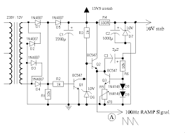 4 channel dimmer ramp generator circuit