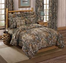 realtree xtra camouflage 3 pc full size comforter bedding set camo hunting