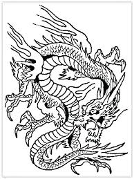 Chinese Dragon Head Coloring Page Trustbanksurinamecom