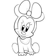 free coloring pages of disney characters baby princess for kids cute p
