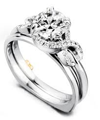 infinity wedding rings. infinity engagement ring with wedding band rings w