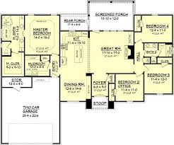 4 bedroom 2100 square foot house plans adhome 2100 square foot home plans