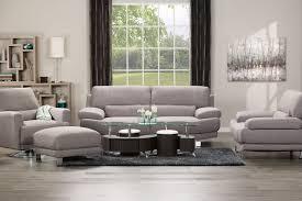 The Brick Living Room Furniture Emilee Fabric Sofa Ash The Brick