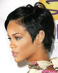 Rhianna Hair Style rihannas many great short hairstyles strayhair 8265 by wearticles.com