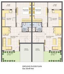 40 x 60 house floor plans india lovely 40 x 40 house plans new 20 x