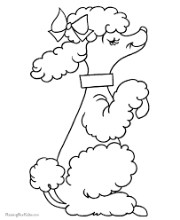 Dog Coloring Pages Free And Printable