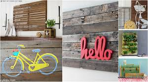 wood pallet wall decor ideas