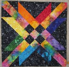 24 best Block of the Month images on Pinterest   Quilt patterns ... & Free Quilt Pattern - The Mexican Star Block by Abby Josias Van Buskirk Adamdwight.com