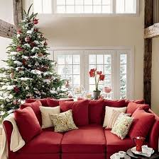 sofa craftsman style red sofa living room. delighful craftsman white accents on the red couch and tree and sofa craftsman style red living room e