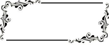 fancy frame border transparent. Transparent Border Frame Victorian Fancy Black Picture Beautiful Professional Silhouette | Go Back \u003e