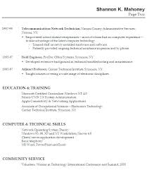 Resume Examples For Graduates Resume Letter Directory