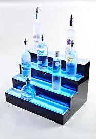 Bar Bottle Display Stand Interesting Bar Charming 32level Tabletop Liquor LED Bottle Display Shelf Whisky