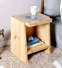 charging end table. Nexo Wireless Charging Bedside Table In Natural Finish By Woodsworth End
