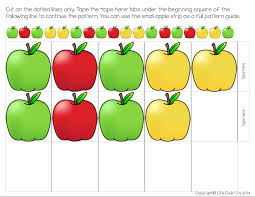 Apple Pattern Impressive Free Apple Patterns For Higher Order Thinking Life Over Cs