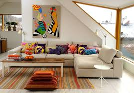 oversized sectionals living room contemporary with area rug artwork beige pillows sectional striped beige sectional living room