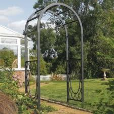 arbor garden. Wrenbury Steel Arbor Garden