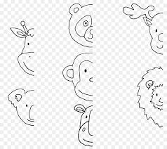 coloring book drawing line art koala