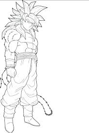 Dragon Ball Z Super Saiyan God Coloring Pages With Goku Ssj Coloring