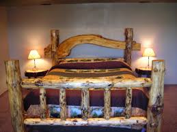 Pine Log Bedroom Furniture Sublime Country Bedroom Furniture Ideas With Log Wooden Rustic Bed