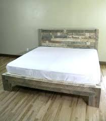 modern platform bed king. Solid Wood Platform Bed King Mash Lax Modern Beds Size L