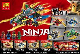 Lele 31174 (NOT Lego Ninjago Movie Ninja:masters Of Spinjitzu ...