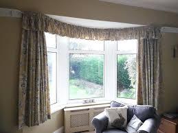 bay window curtain rod. Bay Window Drapery Rod Curtain Combine With Double .