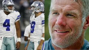 brett favre chooses dak prescott as his early mvp pick favre dak prescott should start over tony romo unless he falters