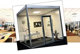 Office pods Outdoor Convenient Office Pod Adds The Sound Of Silence To Your Noisy Open Office Space Matchoffice Office Pod Matchoffice News