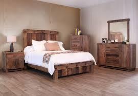 artisan rustic wood bedroom furniture