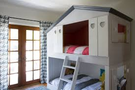 kids bunk bed with stairs. Fine Bed BedroomFascinating Cool Bunk Beds For Kids 40 Kid Remodelaholic House  Shaped Galore Twin Over   In Bed With Stairs O