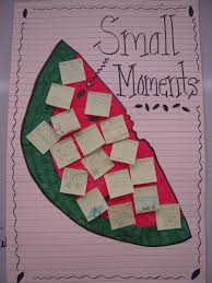 Small Moment Watermelon Anchor Chart Totally Terrific In Texas Small Moments