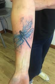 Tattoo Uploaded By Leigh Coombs Watercolour Dragonfly Tattoo