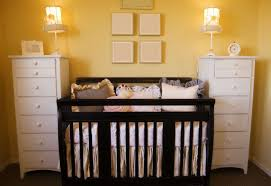 baby room ideas for twins. Cute Picture Of Black And White Baby Nursery Room Design Decoration Ideas : Excellent For Twins