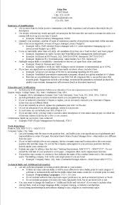 10 Tips To Create An Effective Resume And Get Noticed Examples Of